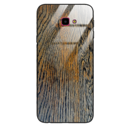 Etui drewniane Samsung Galaxy J4 Plus 2018 Old Fashion Wood Rust Forestzone Glass